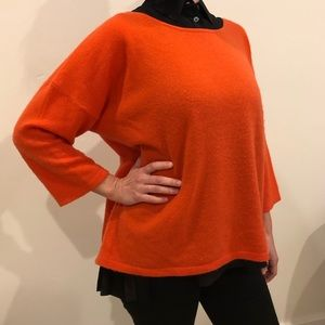 Cashmere 3/4 Sleeve Sweater